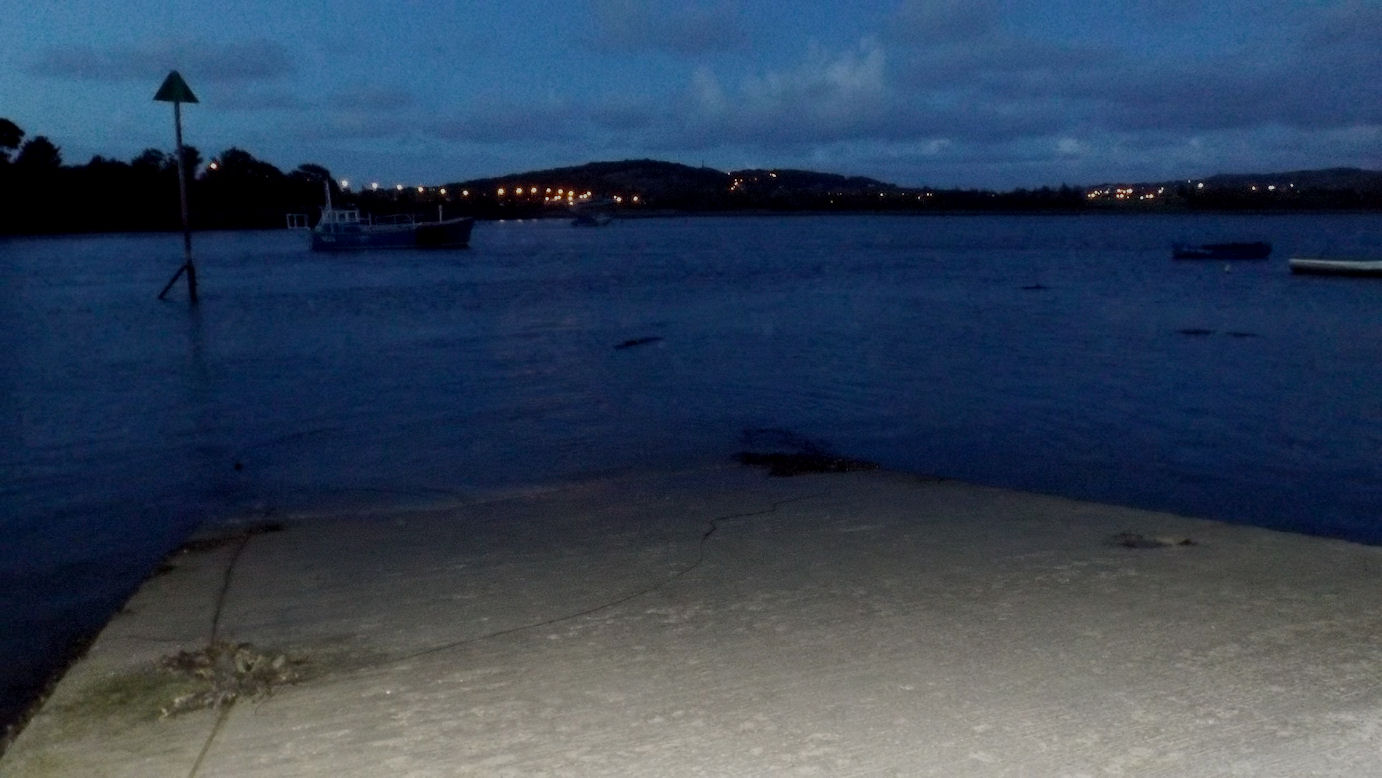 Dusk slipway flash